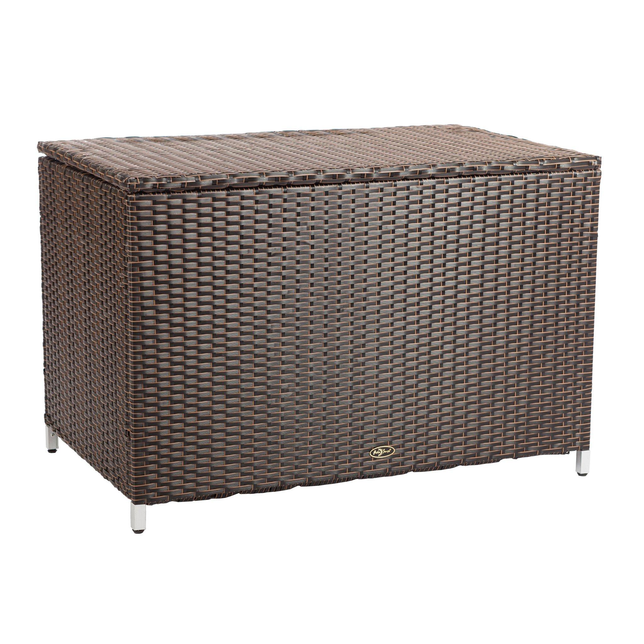 Patio Sense 62427 Hayden Patio Deck Box, Brown