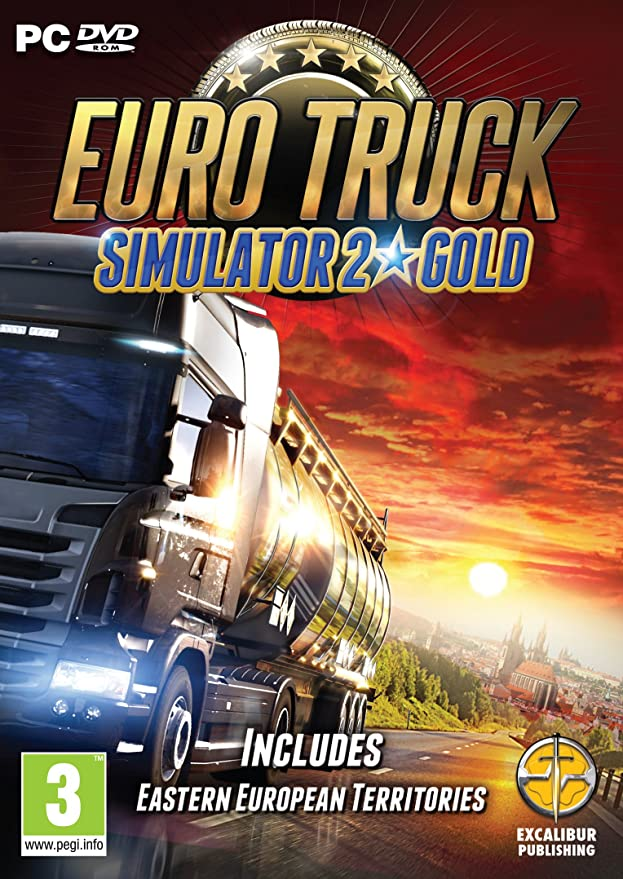 Euro Truck Simulator 2 Gold [Download]: Amazon.co.uk: PC & Video Games
