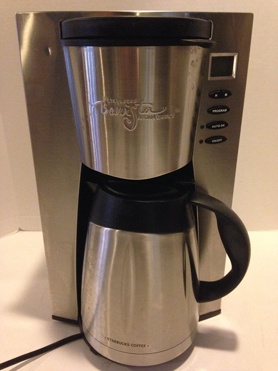 Starbucks Barista Aroma Grande 12 Cup Programable Stainless Steel Coffee Maker