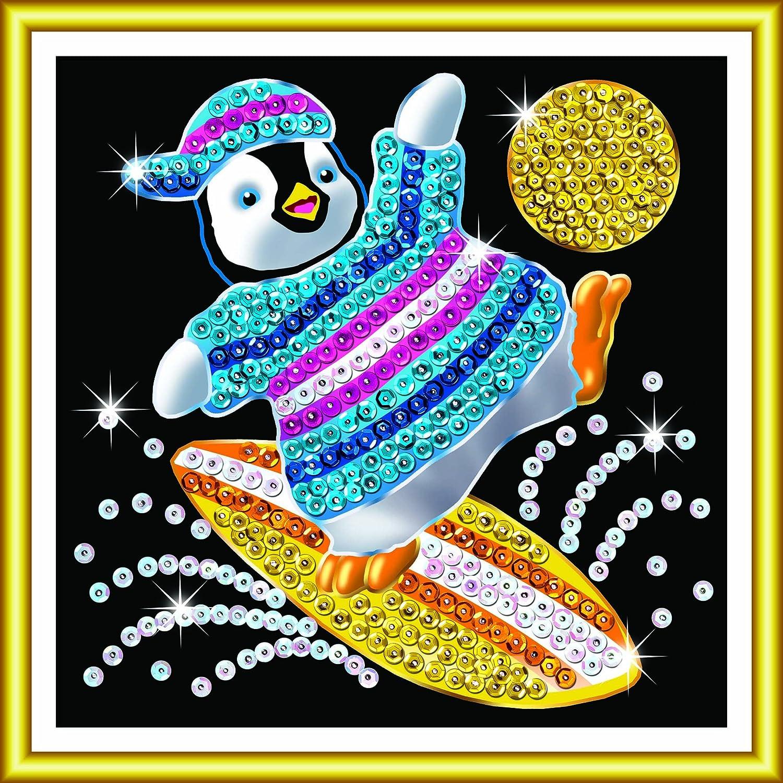 Creativsets Sequin Art 8141325 Schmetterling Sonstige