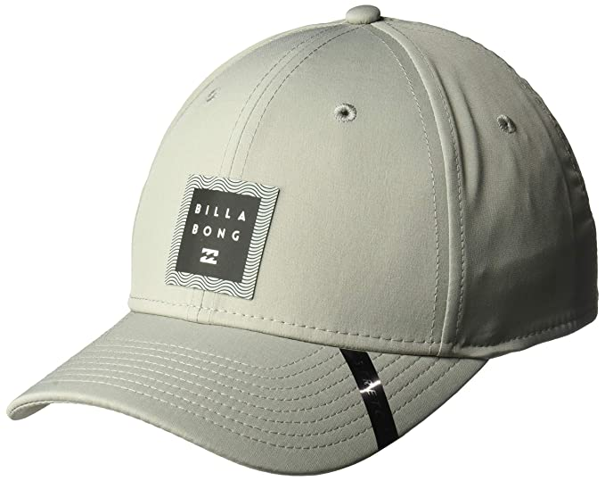BILLABONG Hombre MAHWTBTE Gorra de béisbol - Gris - Small/Medium ...
