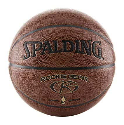 ecdc85dbab10ce Amazon.com  Spalding Rookie Gear Basketball - Brown - Youth Size ...