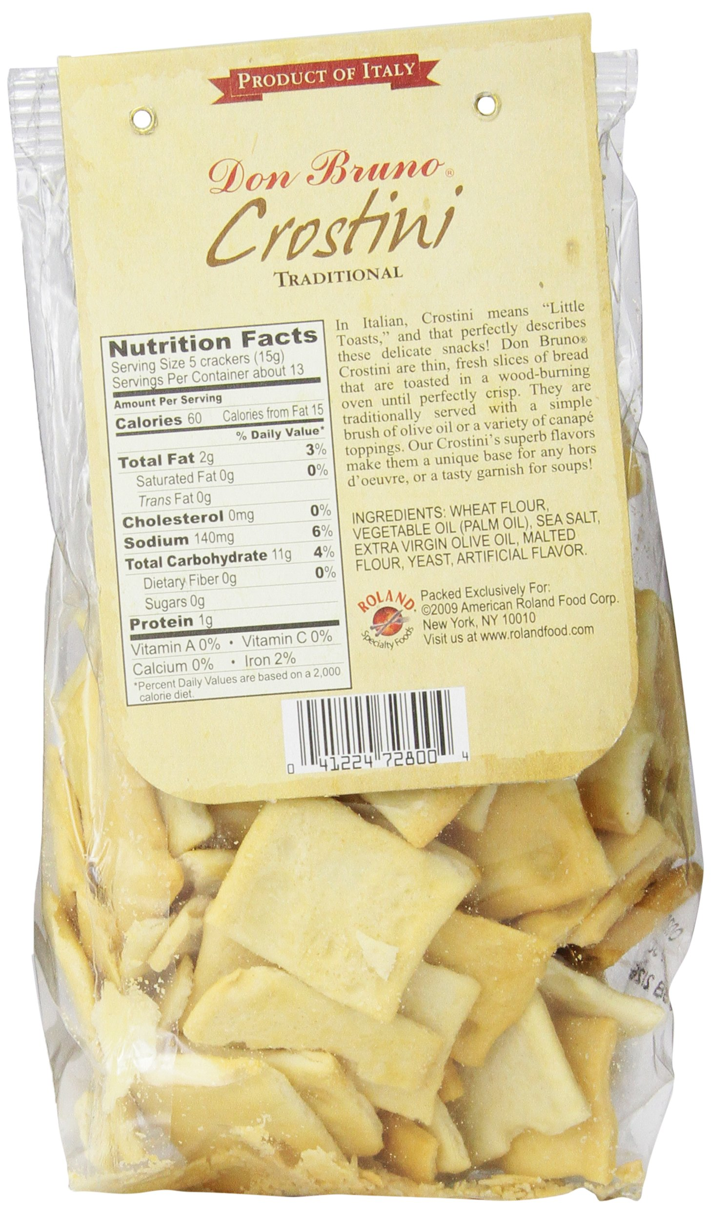 Don Bruno Crostini, Traditional, 7 Ounce (Pack of 6)