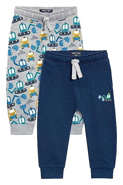next Niños Pack De Dos Pantalones De Chándal Estampado Excavadoras ...
