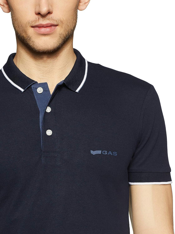 Gas Ralph/S DET. SS Camisa de Polo para Hombre: Amazon.es: Ropa y ...