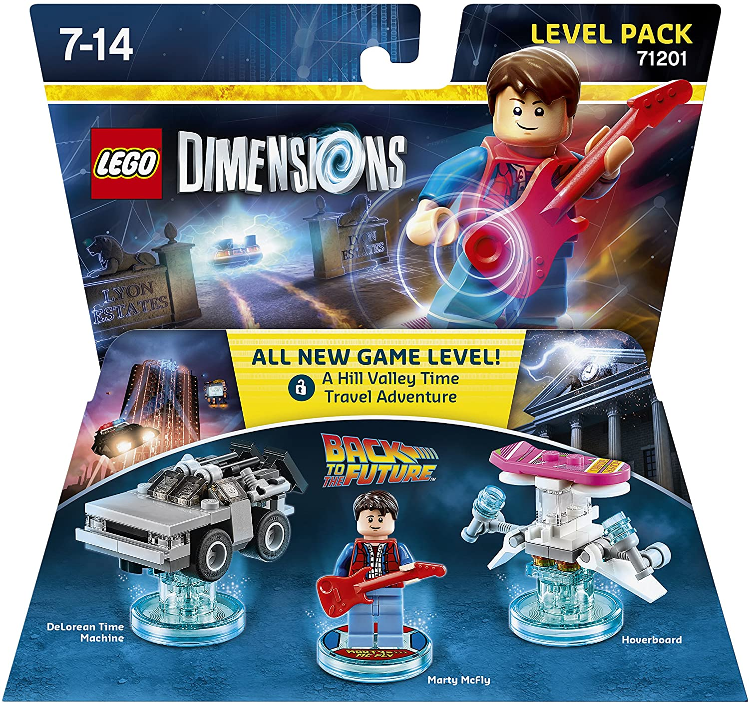 LEGO Dimensions - Back To The Future, Marty McFly: Amazon.es ...