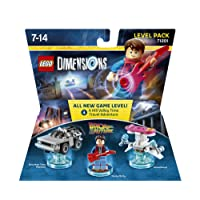 LEGO Dimensions Back To The Future Level Pack TTL