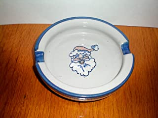 product image for Louisville Stoneware Santa Claus Ashtray -- Made in Louisville Kentucky -- Christmas Item
