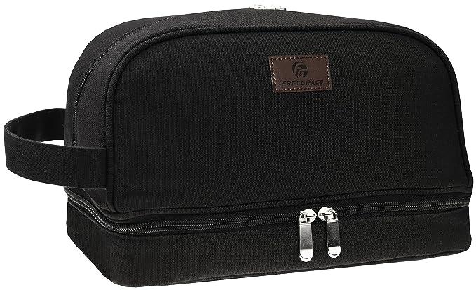 Amazon.com: Premium lona bolsa de aseo por freegrace ...