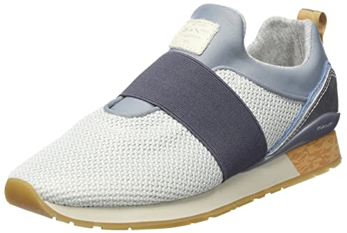 GANT Linda, Mocasines para Mujer, Grau (Light Gray), 36 EU