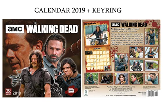 Amazon.com : The Walking Dead Official Calendar 2019 ...