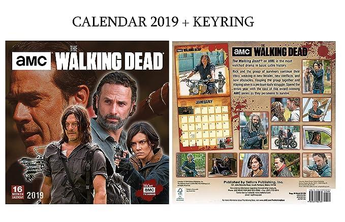 Amazon.com : The Walking Dead Official Calendar 2019 ...