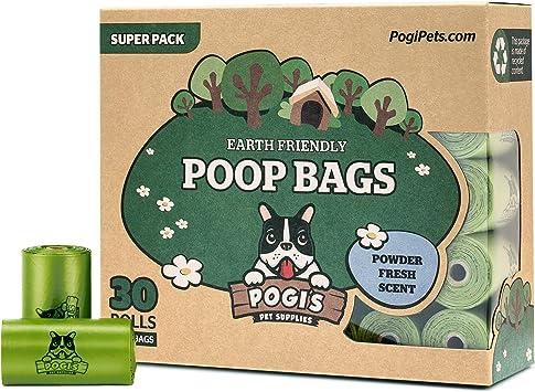 Amazon.com: Pogis Poop Bags - Bolsas de caca grandes, a ...