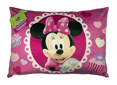 Amazon.com: Disney Minnie cama almohada: Home & Kitchen