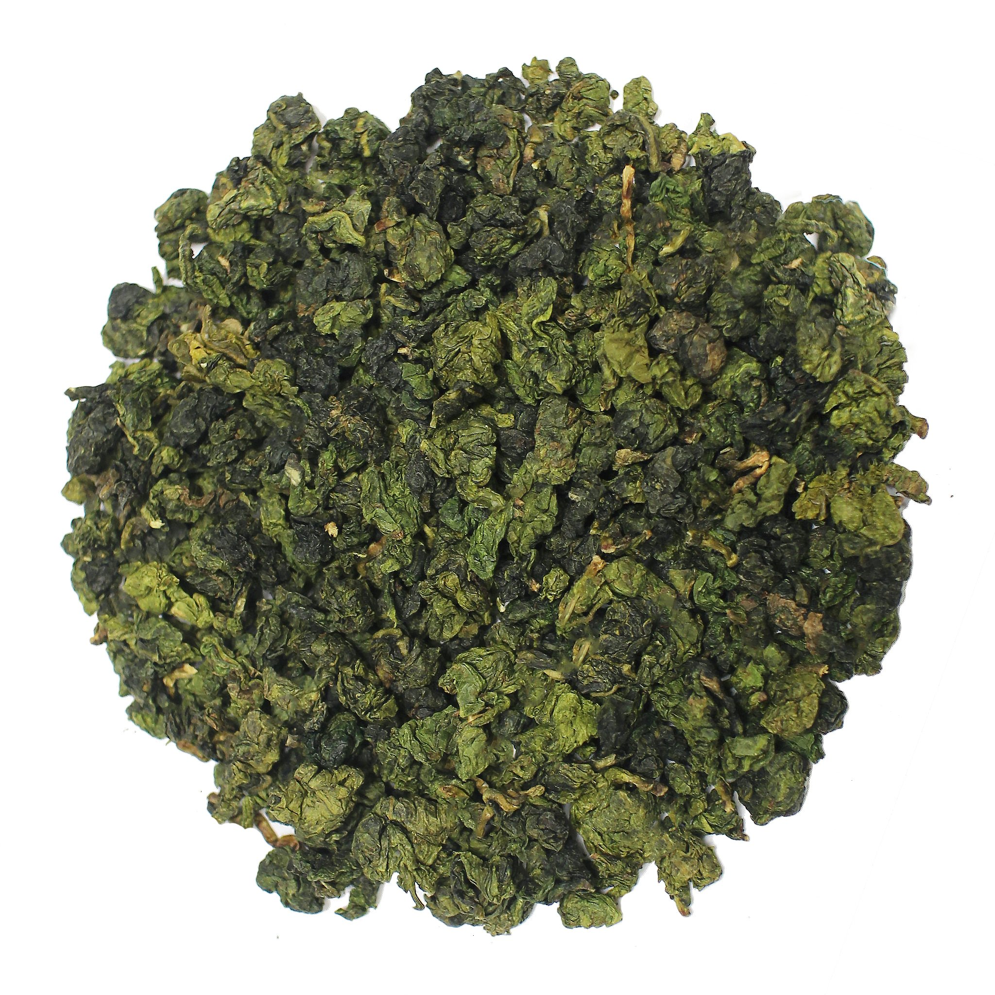 The Tea Farm - Dong Ding Oolong Tea - Chinese Loose Leaf Oolong Tea (8 Ounce Bag) by The Tea Farm