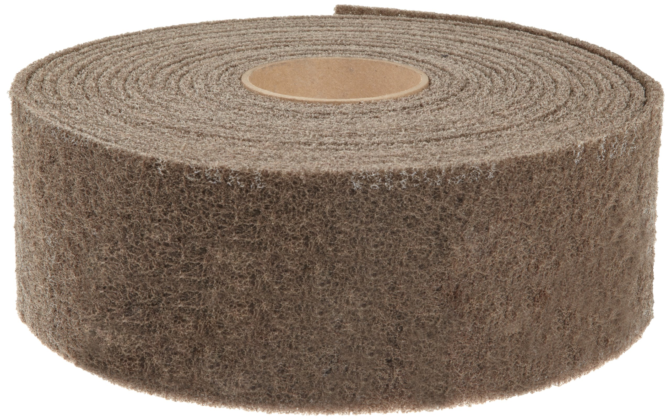 Scotch-Brite Cut and Polish Roll, Aluminum Oxide, 4'' Width x 30' Length, A Medium Grit (Pack of 1)