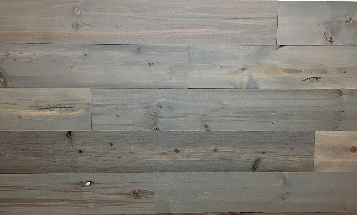 Timberchic DIY Reclaimed Wooden Wall Planks - Simple Peel and Stick Application. (Sample Pack)