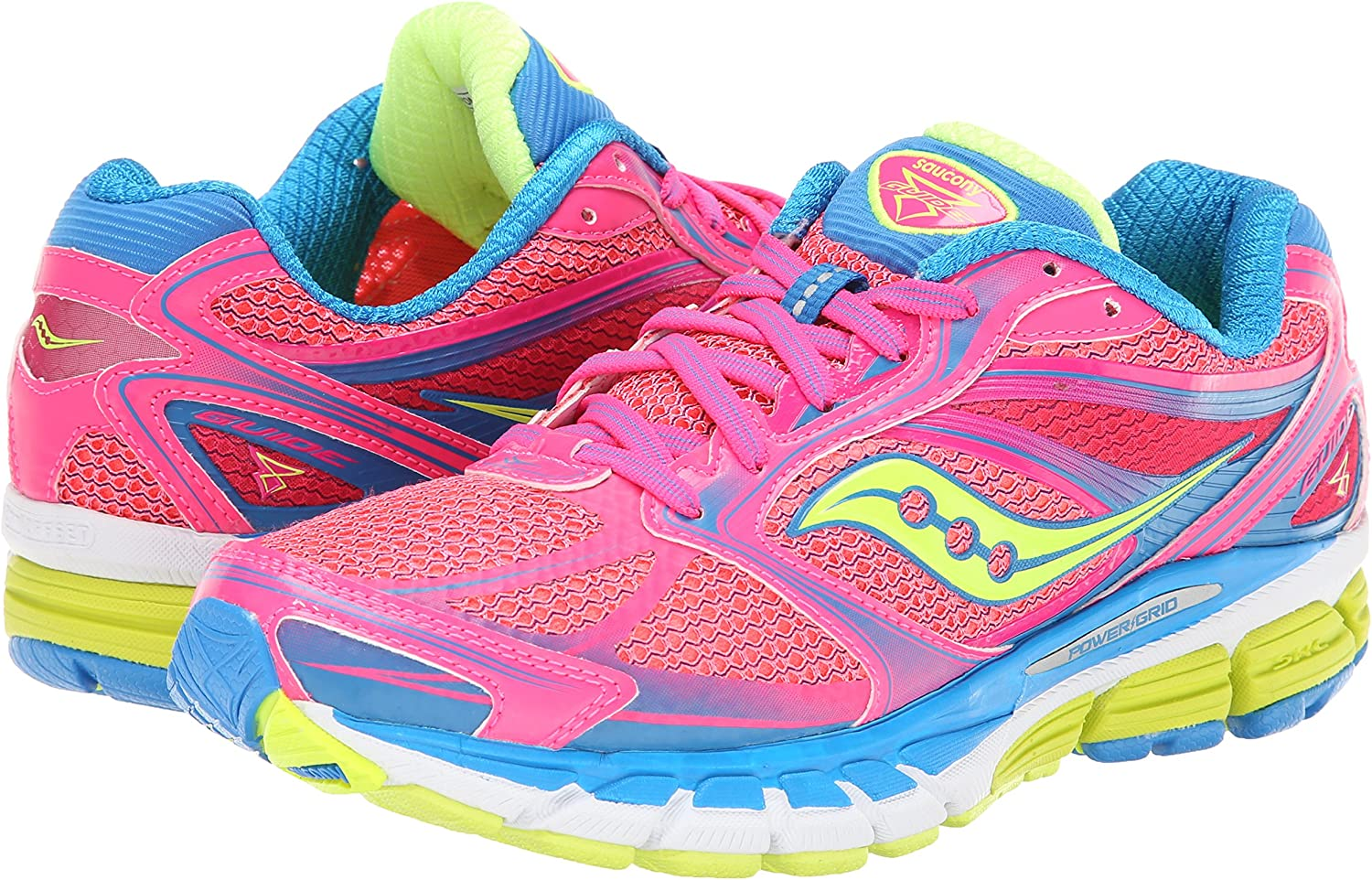 Saucony Guide 8 -Saucony zapatillas se–ora, talla 40,5 color rosa: Amazon.es: Zapatos y complementos
