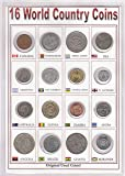 Coins & Stamps World Coins 16 Different Countries