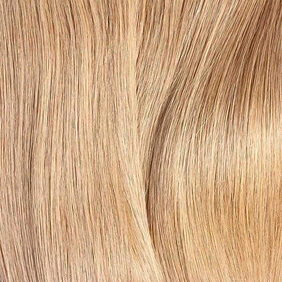 Just Beautiful Hair 50 x 1 g Extensiones de Queratina, REMY - 60cm- Liso, Colore #12 Miel Rubia: Amazon.es: Belleza