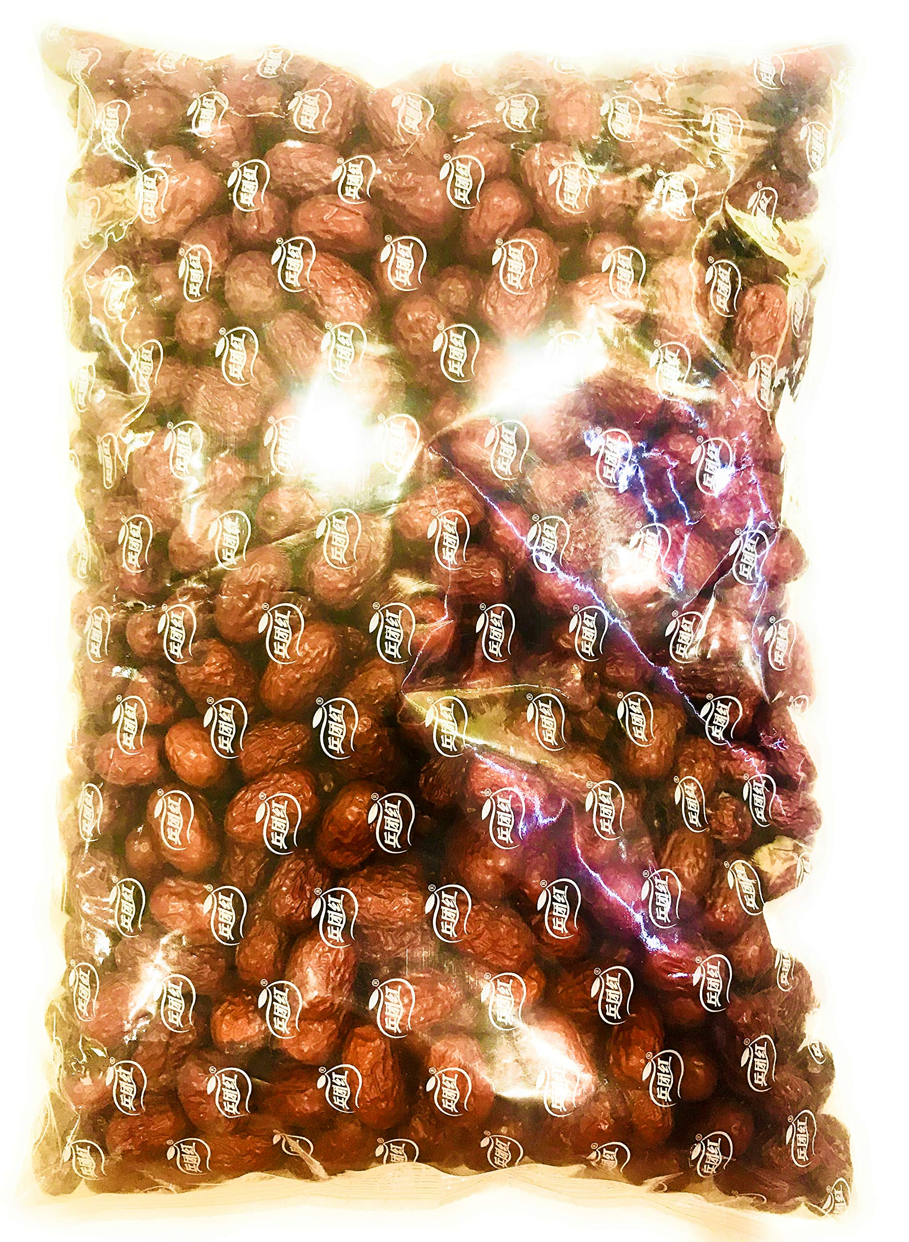 Red Jujube/Red Chinese Dates 新疆兵团红棗 (11 LB (2 Bags))
