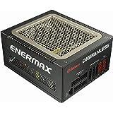 Enermax DIGIFANLESS 80 Plus Platinum Full Modular 550W World 1st Digitally Controlled Fanless and 0 dba Soundless Operation Power Supply, EDF550AWN