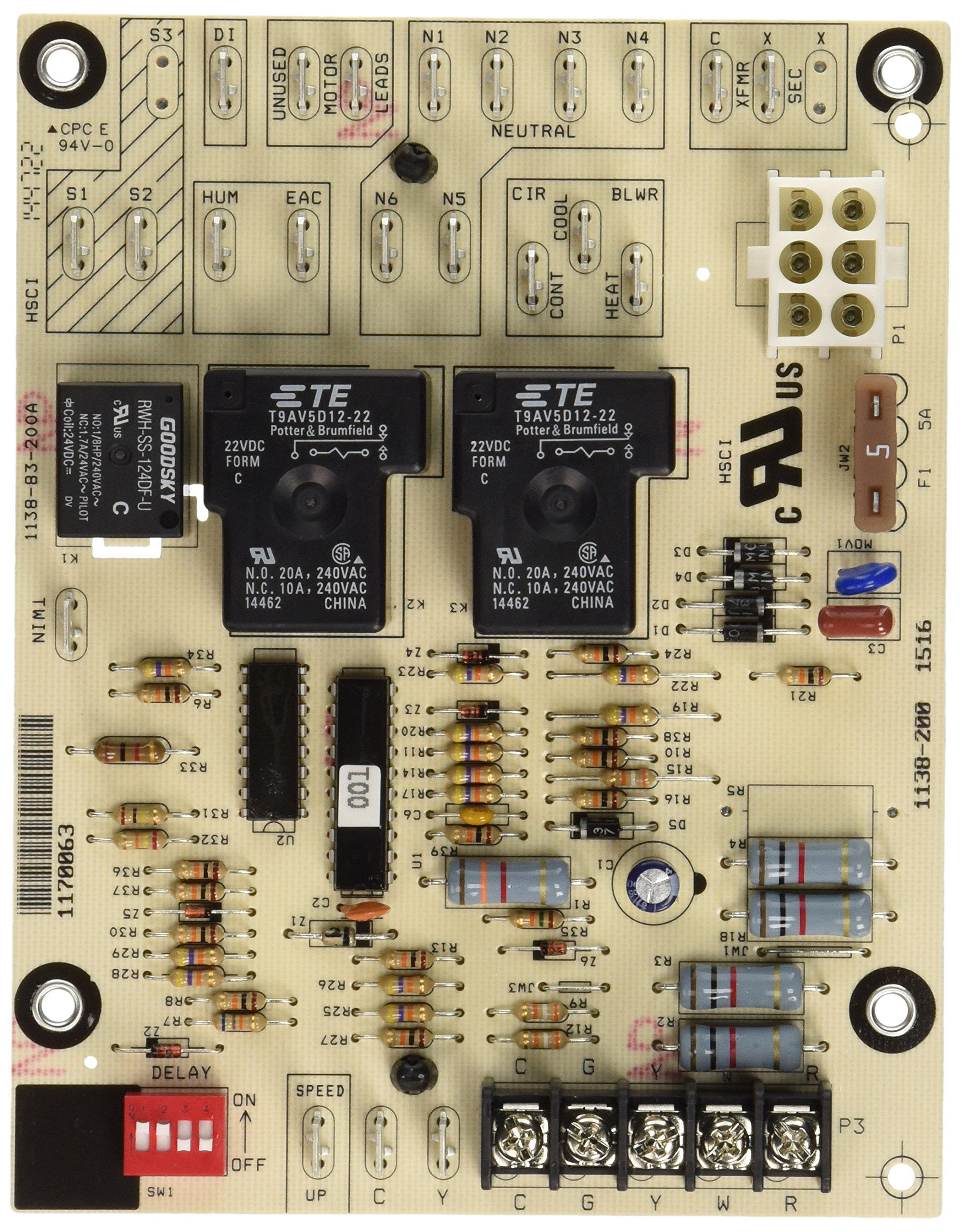 Heil 1170063 Control Fan Timer