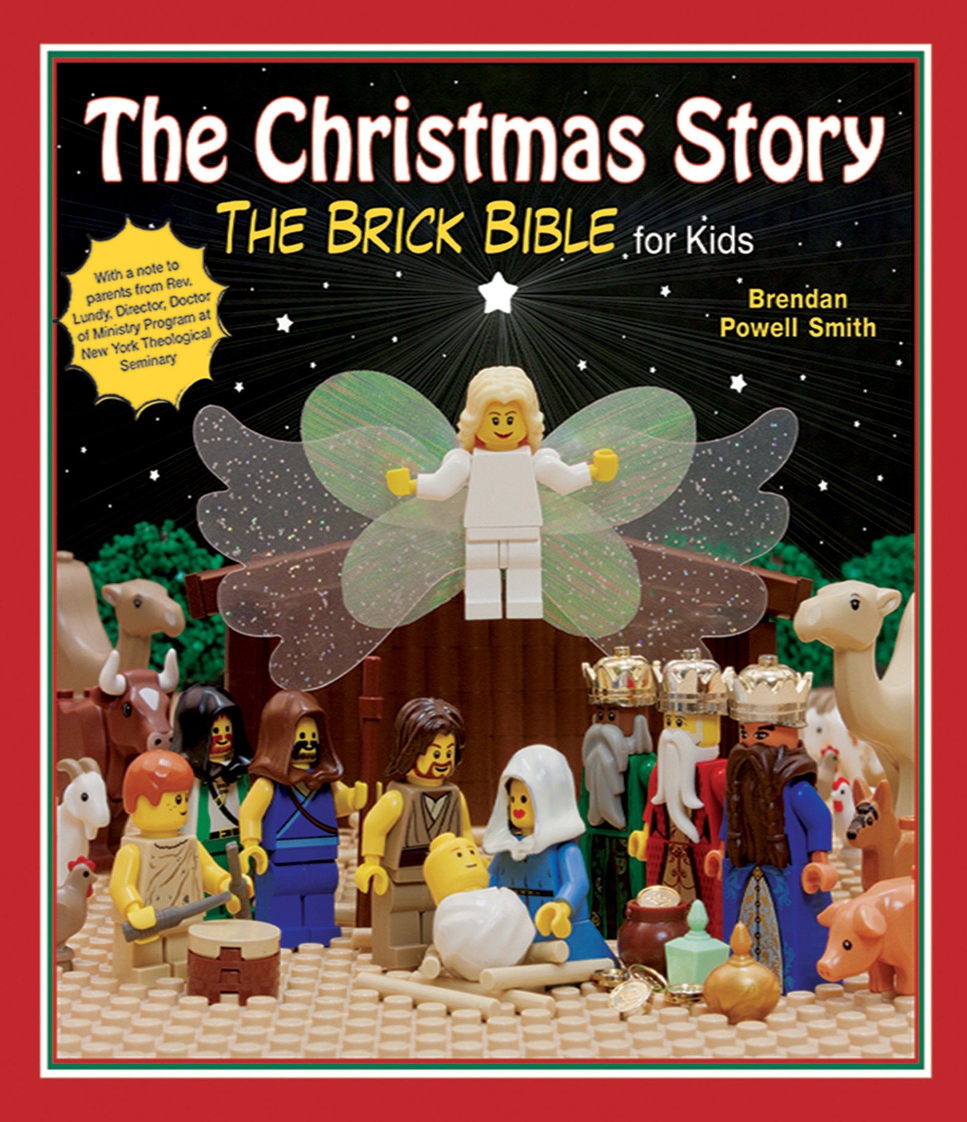 amazoncom the christmas story the brick bible for kids 9781620871737 brendan powell smith books