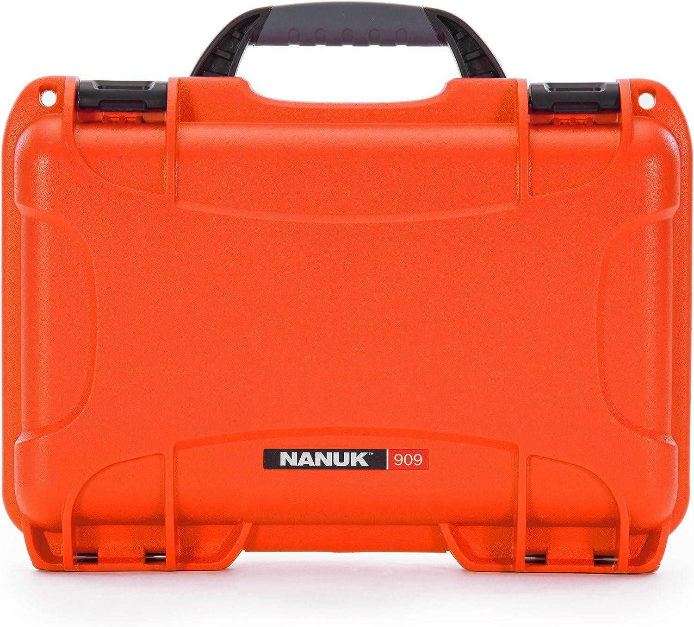 Nanuk 909 Waterproof Hard Case - Orange