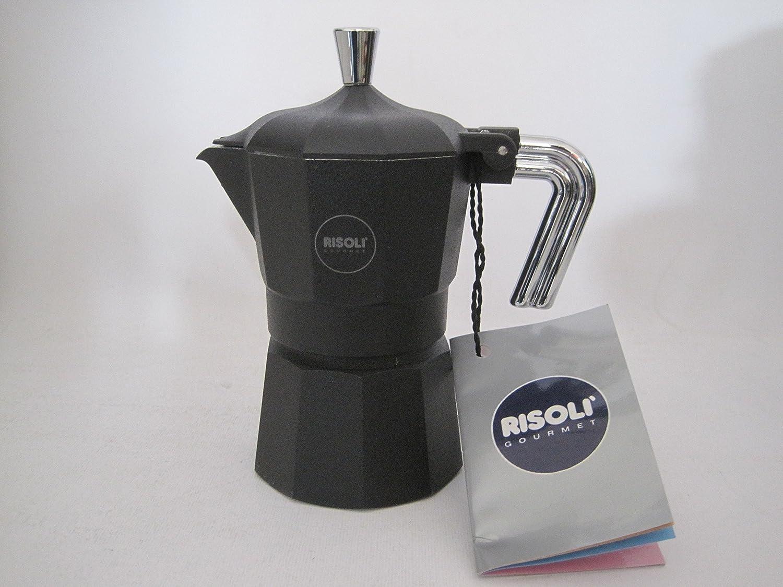 Acquisto CAFFETTIERA RISOLI' 1 TAZZE NERA Prezzi offerta