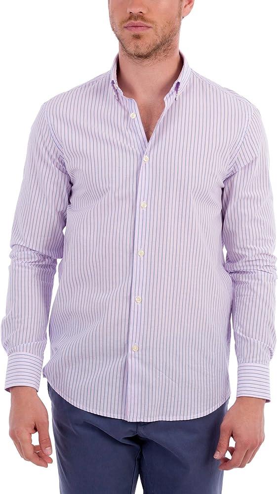 Blue coast yachting Camisa Hombre Rosa XL: Amazon.es: Ropa y accesorios