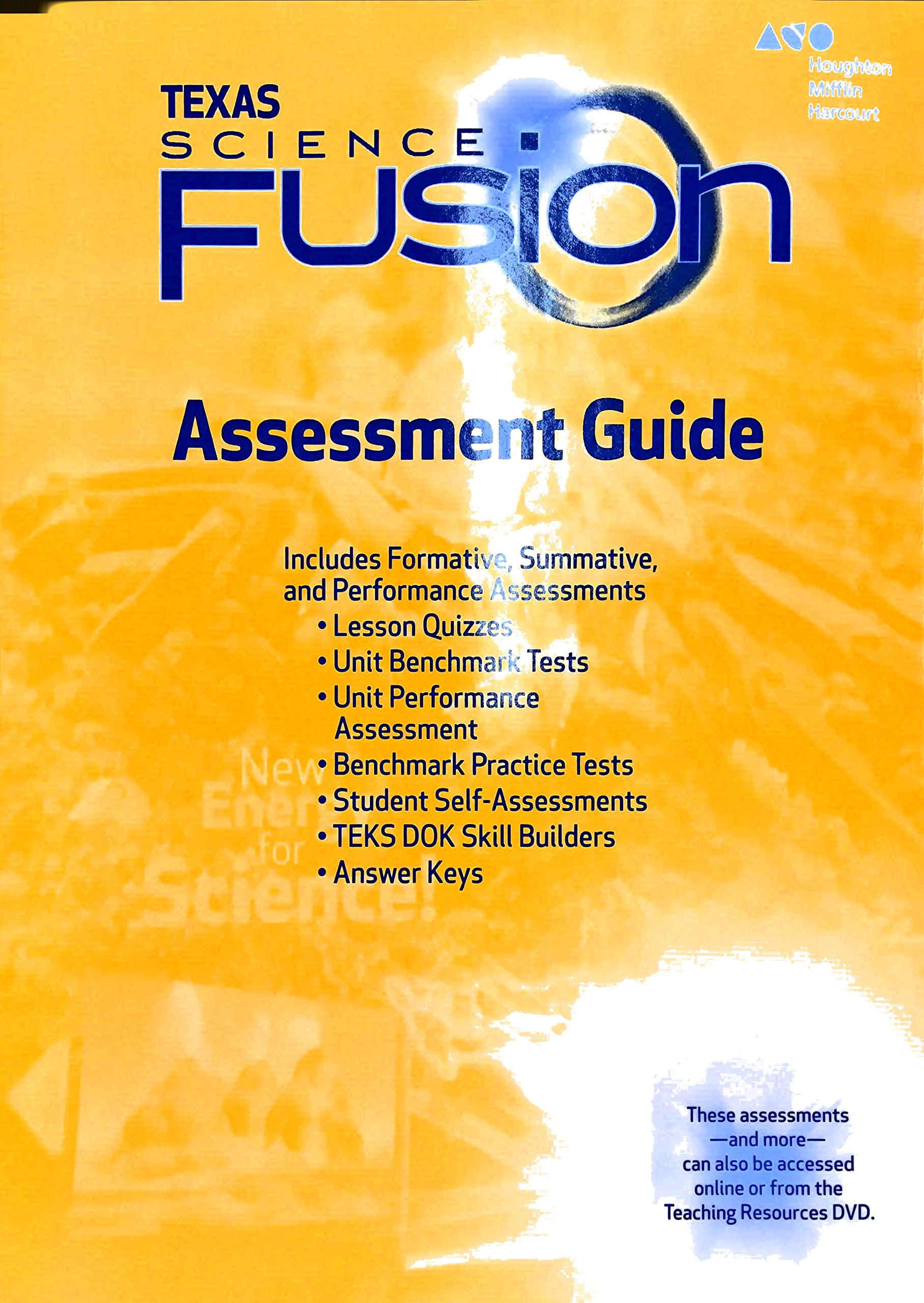 texas science fusion assessment guide grade 5 houghton rh amazon com Theme Worksheets 4th Grade Theme Worksheets 4th Grade