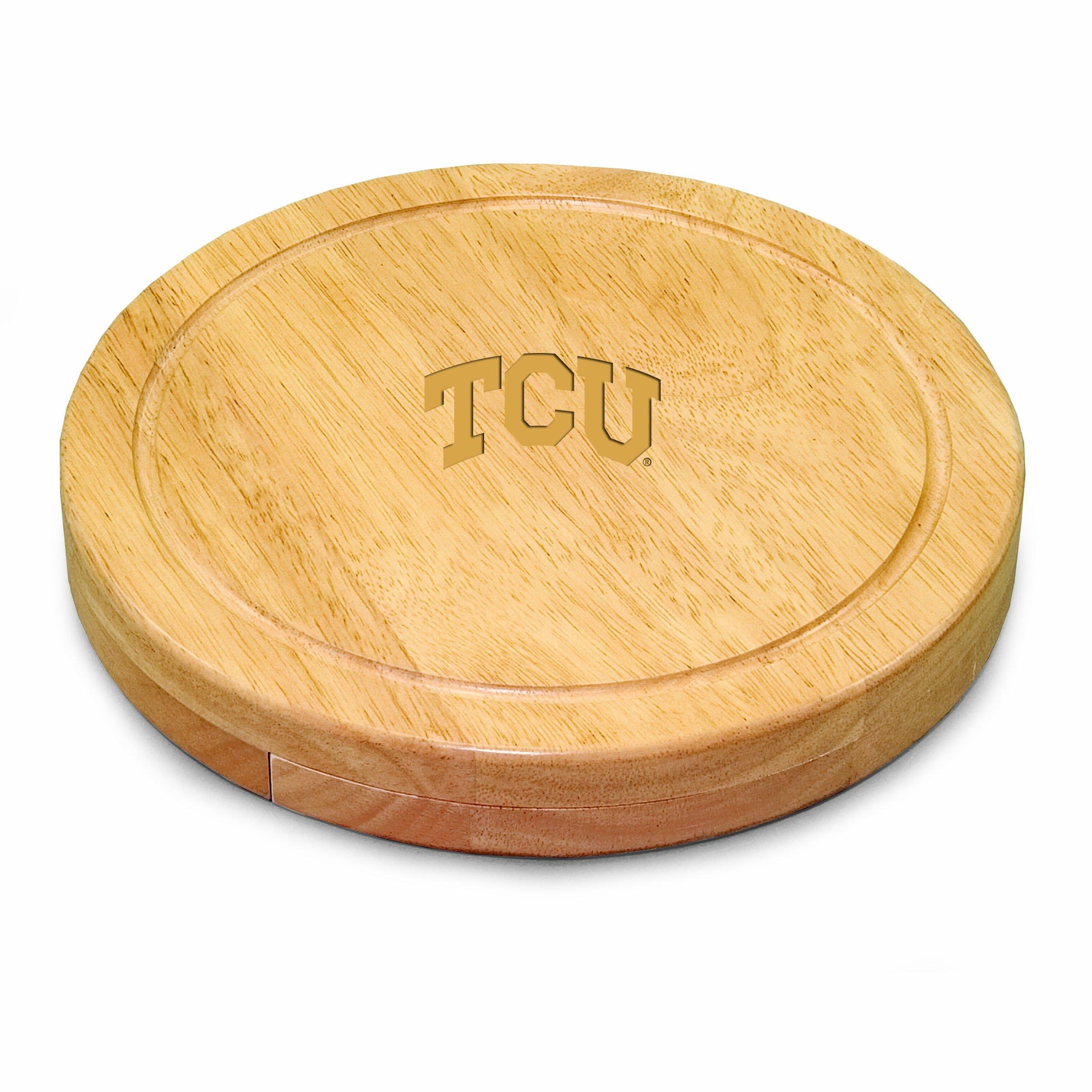 PICNIC TIME NCAA Texas Christian Horned Frogs Circo Cheese Set