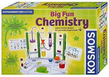 Kosmos Experimente Forschung 642105 Big Fun Chemistry Spiel