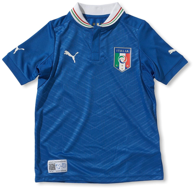 PUMA Kinder Fußballtrikot Italia Home  Replica