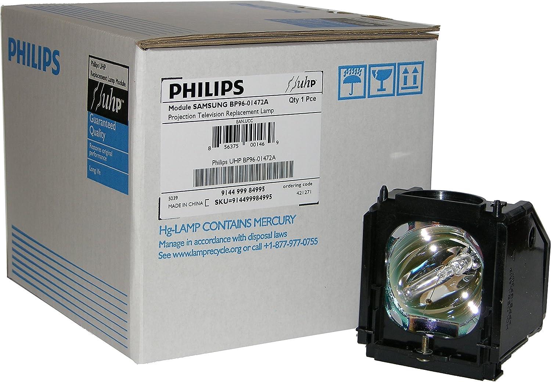 Original Philips Lamp//Bulb//Housing for Samsung BP96-01472A.