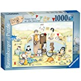 Ravensburger Crazy Cats Caravan Puzzle 1000pc,Adult Puzzles
