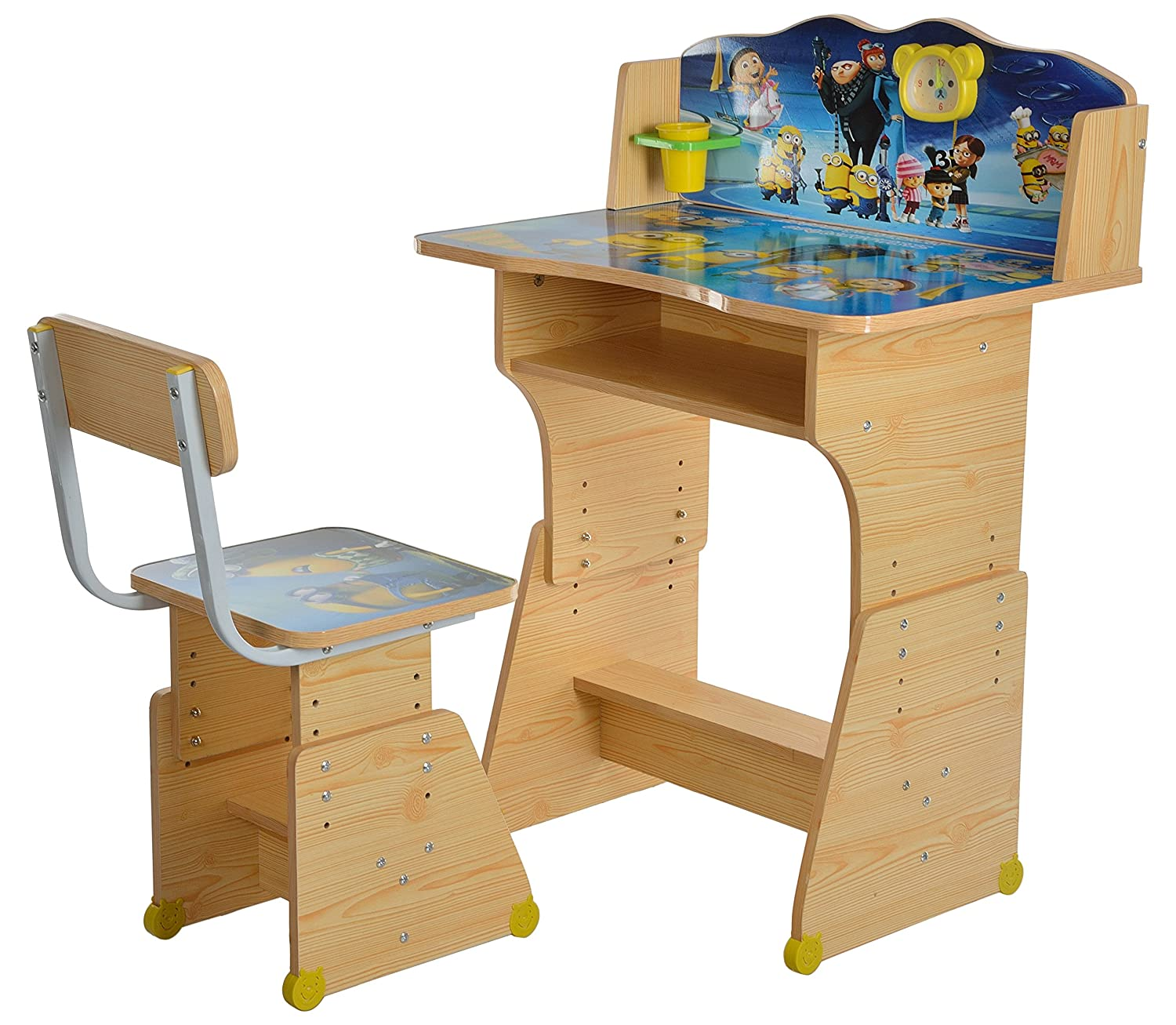 Iris Heavy Duty Kids Table and Chair Study Set (Wooden): Amazon.in