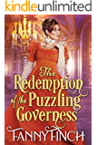 The Redemption of the Puzzling Governess: A Clean & Sweet Regency Historical Romance (The Merchant's Daughters Book 2)