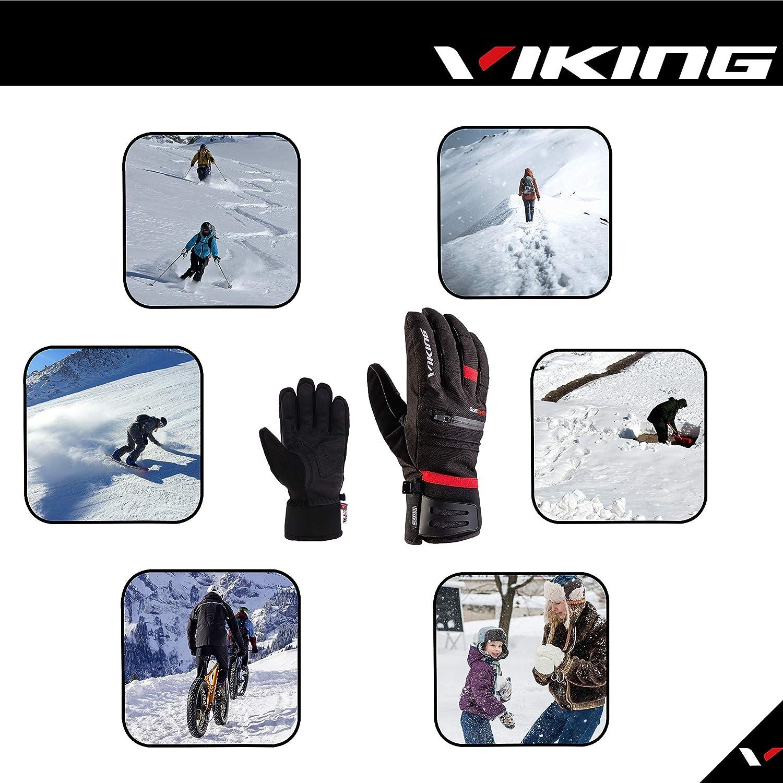 Viking Europe Kuruk Ski Handschuhe Herren red 2020 Outdoor Handschuhe