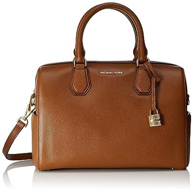 42b937c02f Amazon.com  Michael Kors Women s Mercer Medium Leather Duffel Bag ...