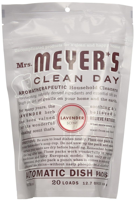 Mrs. Meyer de Clean Day automático paquetes con 20 cargas de ...