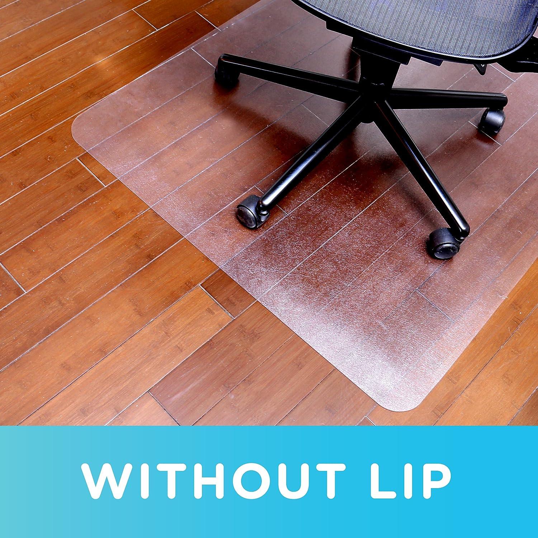 1532630 Dimex 46x 60 Clear Rectangle Office Chair Mat For Hard Floors