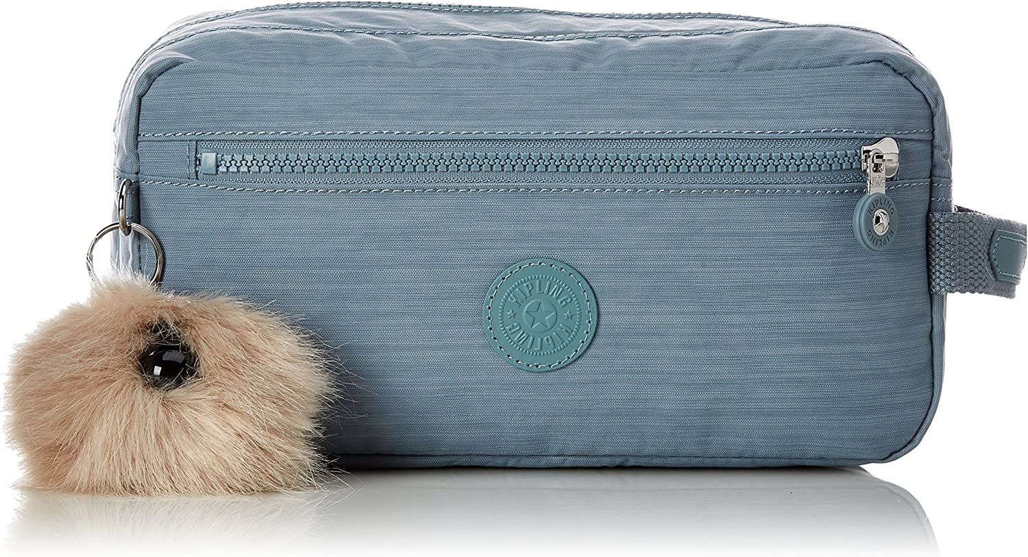 Kipling AGOT Toiletry Bag, 26 cm, 3 liters, Blue Dazz Soft Aloe