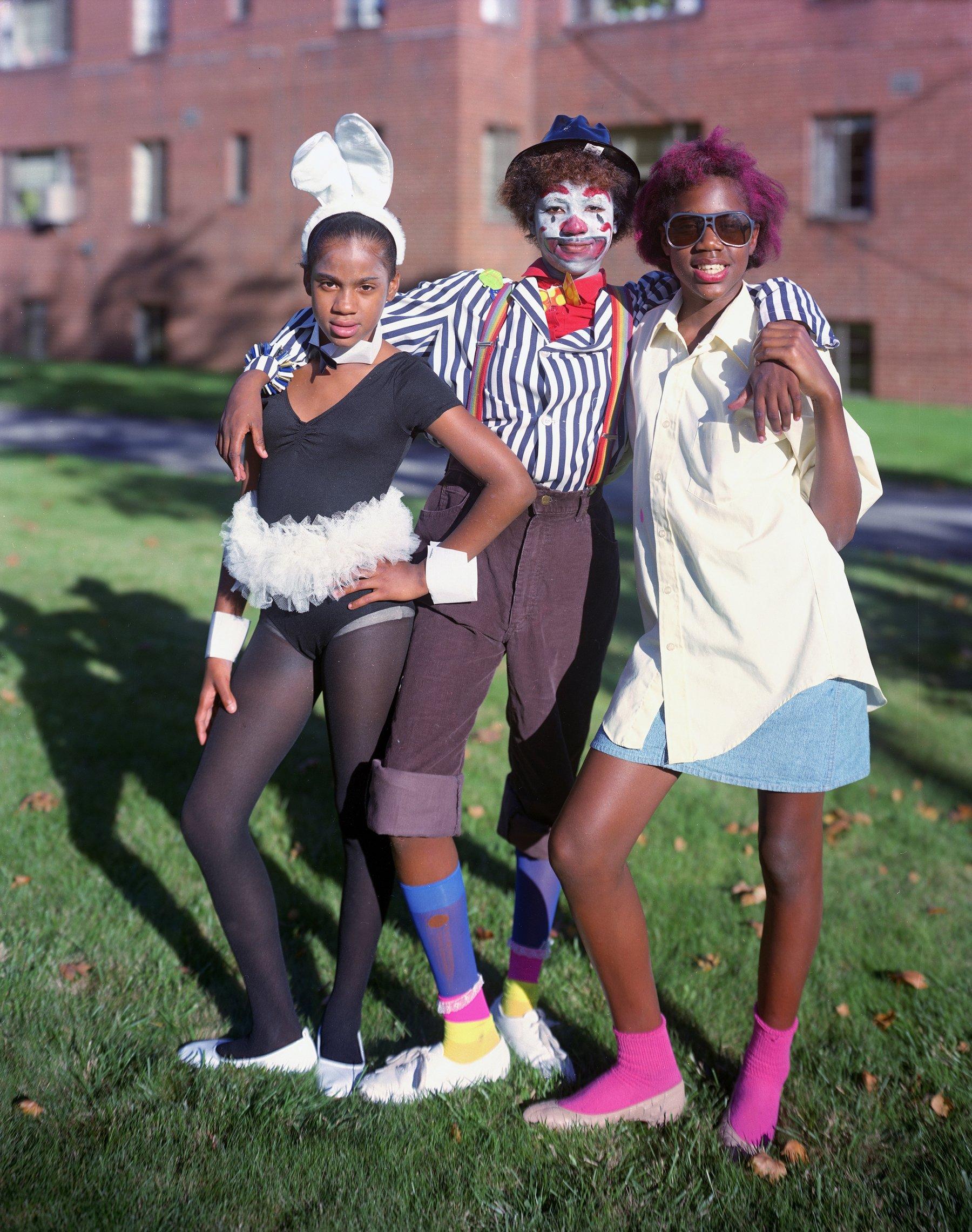 Girls, Halloween, Pittsburgh, PA