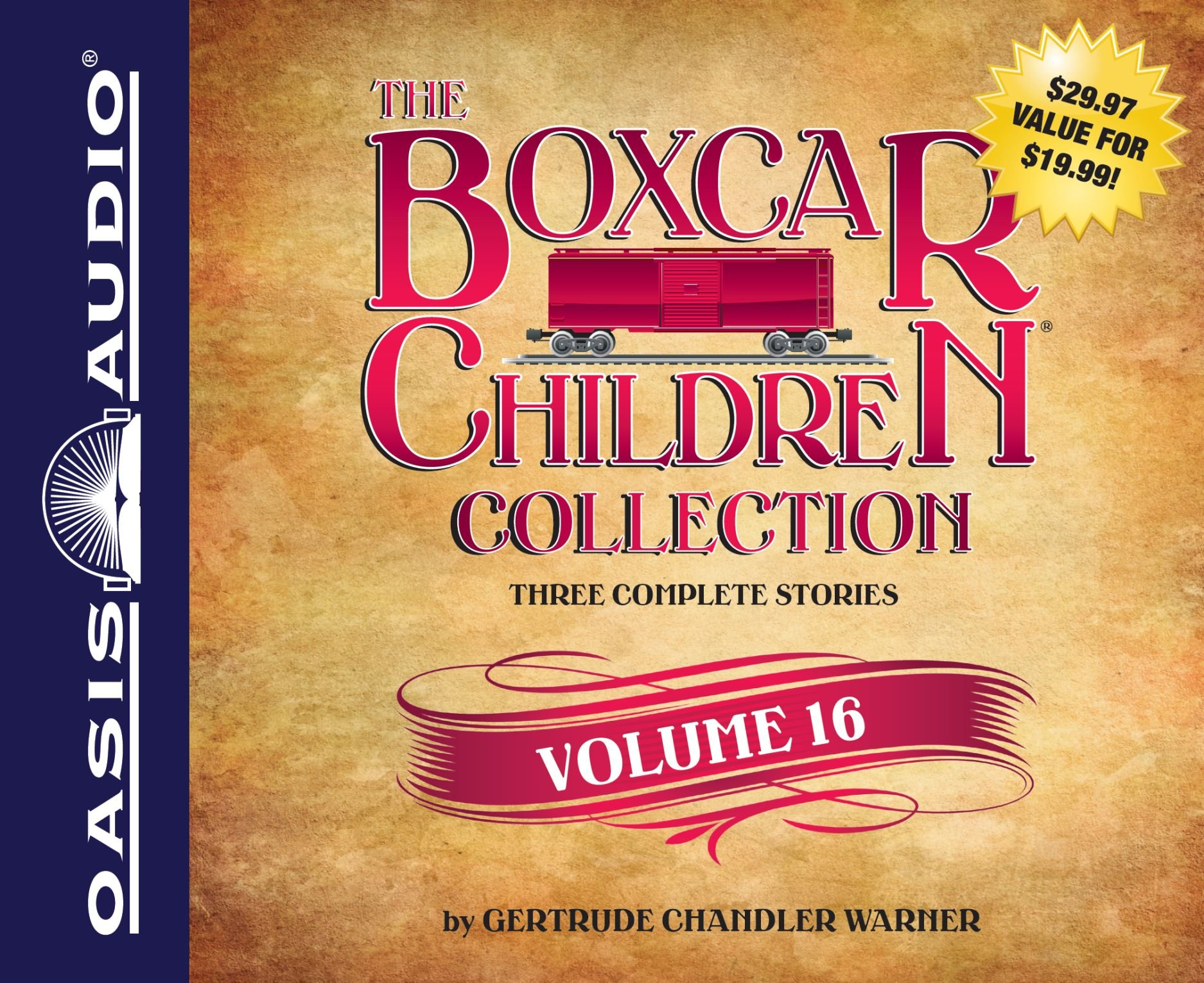 The Boxcar Children Collection Volume 16: The Chocolate Sundae Mystery, The Mystery of the Hot Air Balloon, The Mystery Bookstore