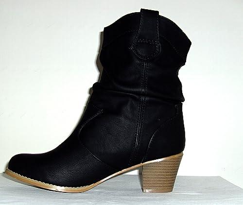 Sosana Stiefelette Gr. 40: : Schuhe & Handtaschen