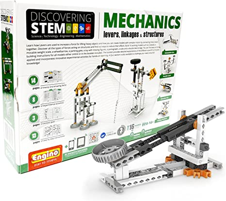 Engino Discovering Stem: Levers, Linkages & Structures Building Kit
