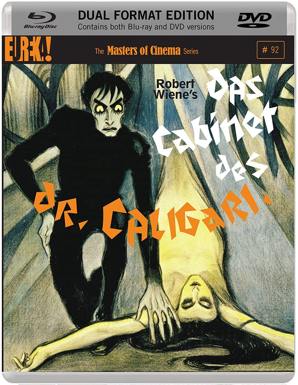 Das Cabinet Des Dr. Caligari Masters of Cinema DUAL FORMAT Edition ...
