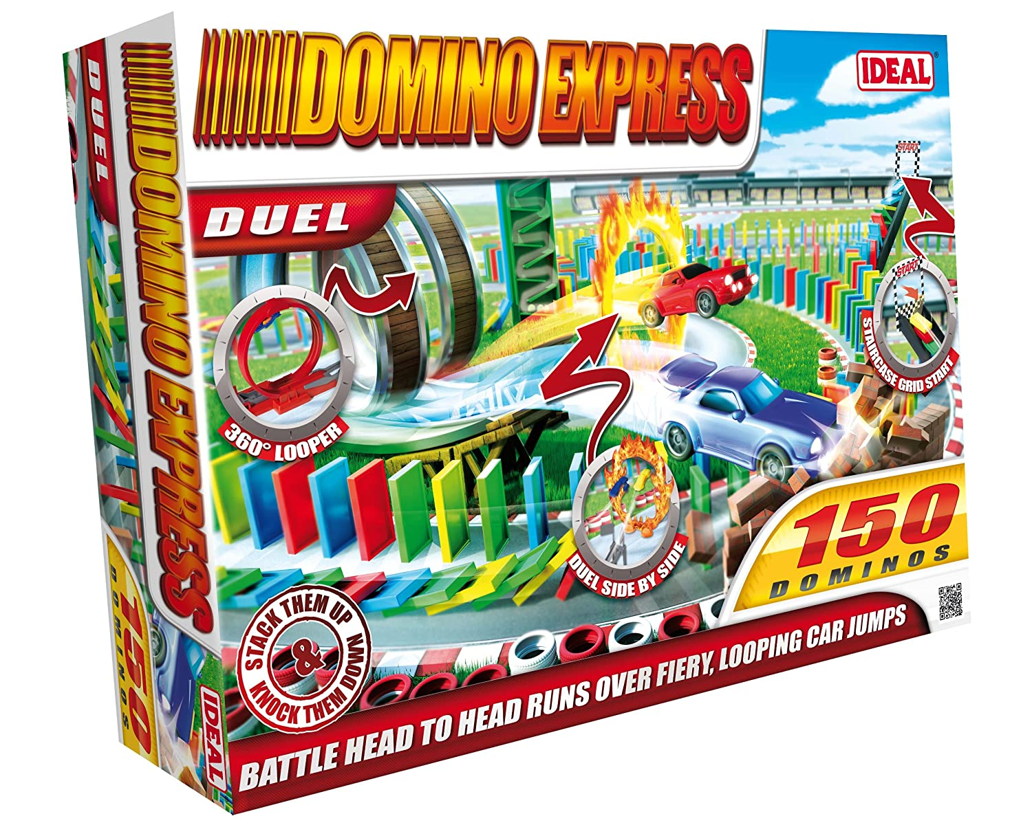 Ideal 9821 Domino Express Duel